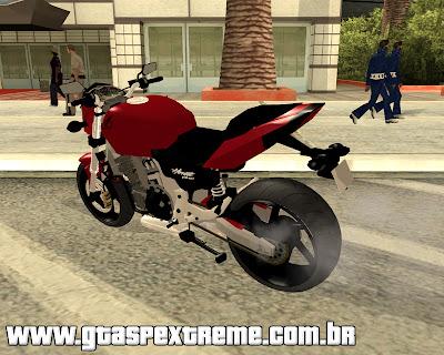 Honda Hornet CB 600 2012 para GTA San Andreas