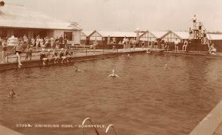 1955 Kinmel Bay Sunnyvale Camp swimming pool