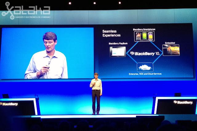 RIM ha reunido a las huestes que aún le son leales en la European Developers Conference de Amsterdam para planear su estrategia de cara a 2012. Tras el batacazo de la caída del servicio en octubre del año pasado y de pasar por la quilla a sus dos CoCEOs, la compañía vuelca sus esfuerzos en renovar su sistema operativo de arriba abajo. El nombre de ese software salvador es Blackberry OS 10 y, si todo va según lo previsto, se instalará en los nuevos terminales de RIM a finales de este año. Blackberry OS 10 funcionará, como la Playbook, sobre