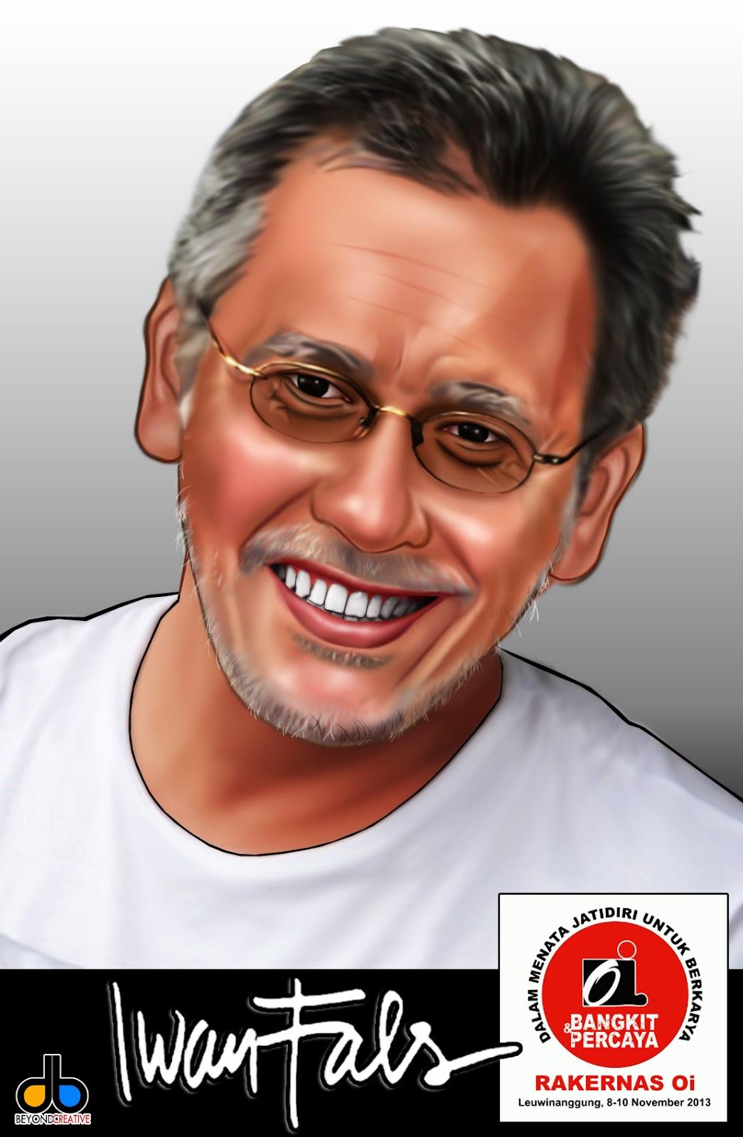 Bang Iwan Fals Jasa Pembuatan Karikatur Balikpapan