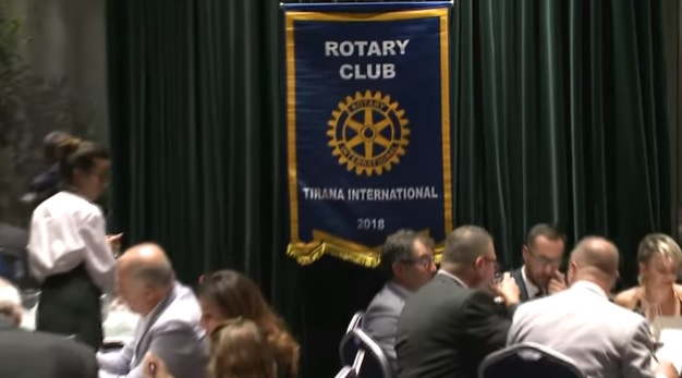 Rotarian Club Tirana International founded in Albania