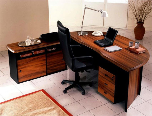 best wooden office desk furniture images
