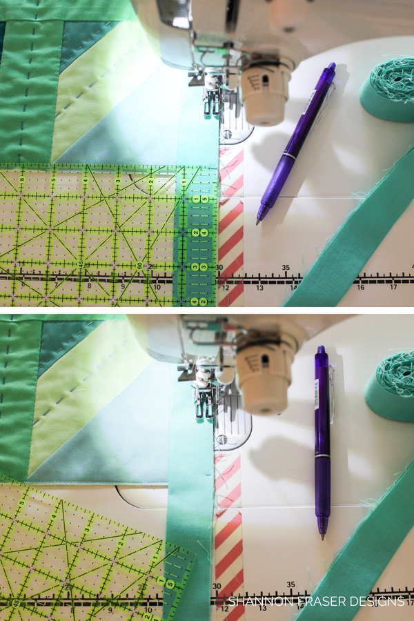 Quilt Binding Tutorial - Part 1 | Step by step instructions to create and attach your own quilt binding | Shannon Fraser Designs #quilttutorial