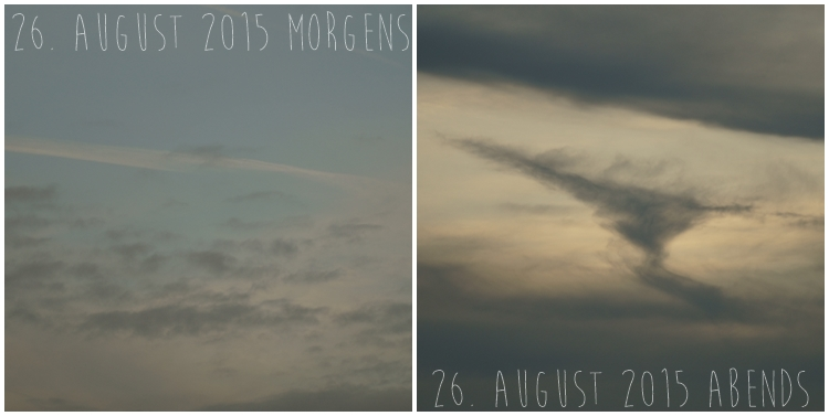 Blog & Fotografie by it's me! - Himmel am 26. August 2015