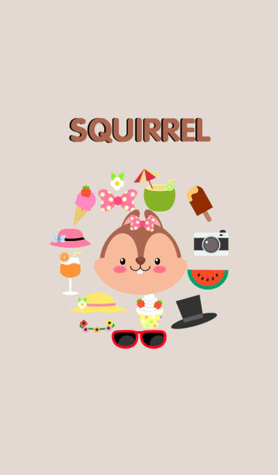 Accessories Squirrel Theme(jp)