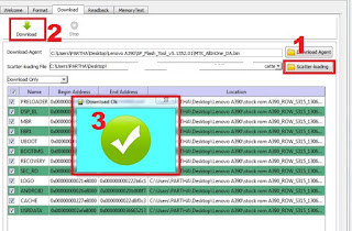 Cara Flash Firmware Advan T5C