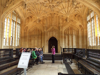 Bodleian Library Harry Potter Oxford