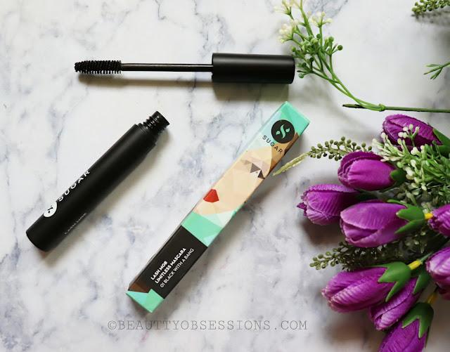 SUGAR Cosmetics Black with a Bang Lash Mob Mascara Review