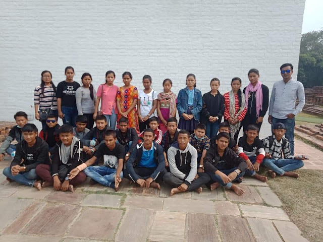 लुम्बिनीमा सामुुुुहिक फोटोसेसन
