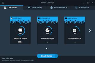 تثبيت برنامجSmart Defrag 5 PRO في أخر إصدار له مع التفعيل
