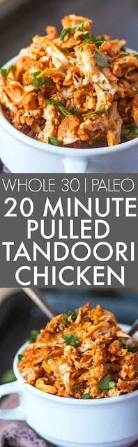 Pulled Tandoori Chicken