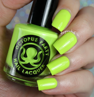 Octopus Party Nail Lacquer Racqueteering | Summer 2016