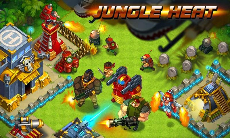 Divertido juego para dispositivos móviles, Jungle Heat