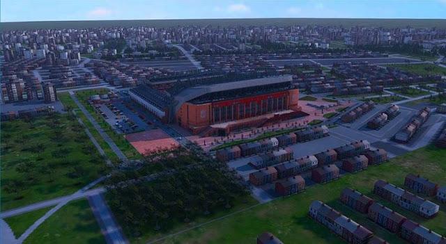 Anfield Road Stadium PES 2017