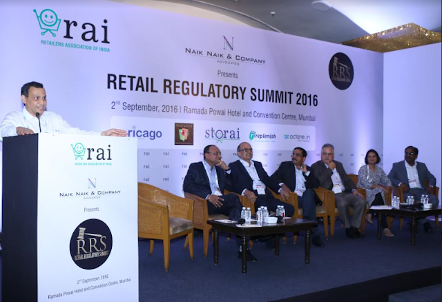 'To boost retail business is to de-regulate it, and introduce more reforms', say legal heads of India's top retail companies at RAI's Retail Regulatory Summit 2016