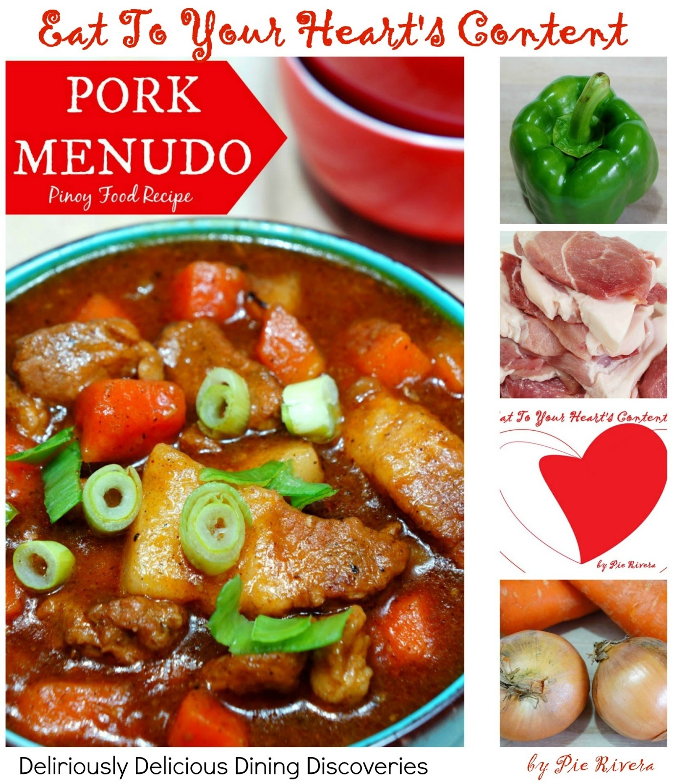 Eat to your hearts content deliriously delicious dining pinoy food recipe pork menudo forumfinder Gallery