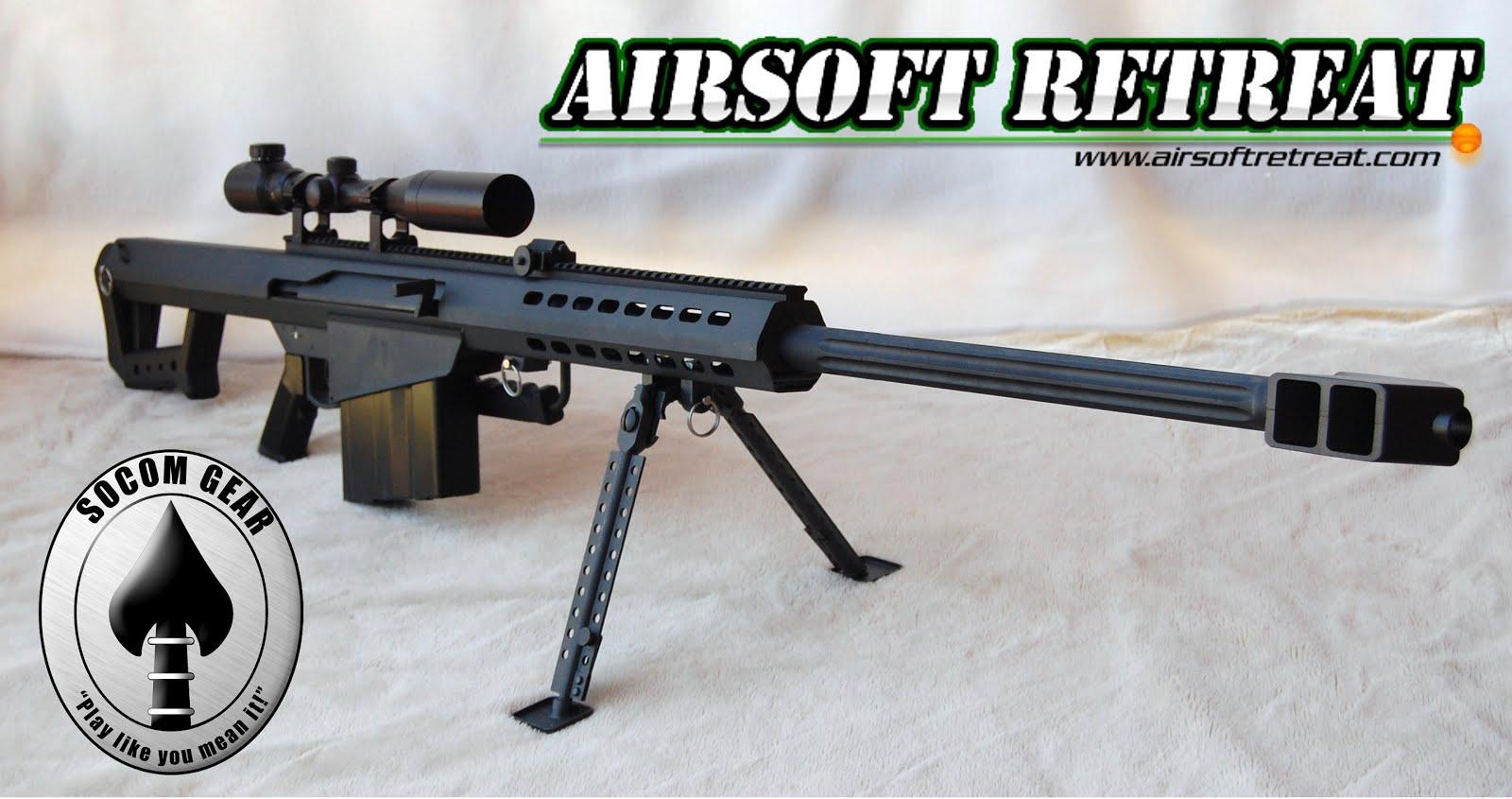 SOCOM Gear Barrett M82A1 AEG | Booligan's Airsoft Reviews
