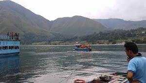 Sahril Sinaga Tenggelam di DanauToba, Camat Sitiotio: Setelah Jaring Kelima Korban Baru Ditemukan