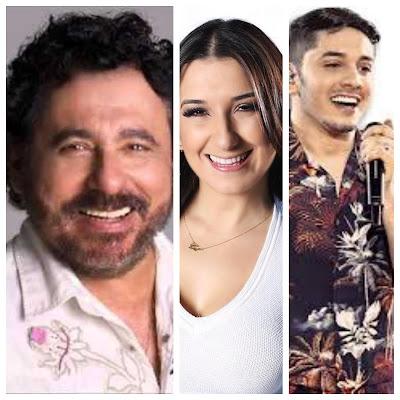 Jorge de Altinho, Gil Mendes e Jonas Esticado abrem  a primeira noite de shows na  55ª  festa  da juventude em Santana do Ipanema