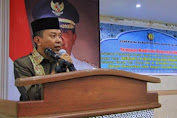 Bupati, H.M. Basli Ali Sampaikan Pesan Moral Pada Peringatan Maulid Nabi Muhammad SAW