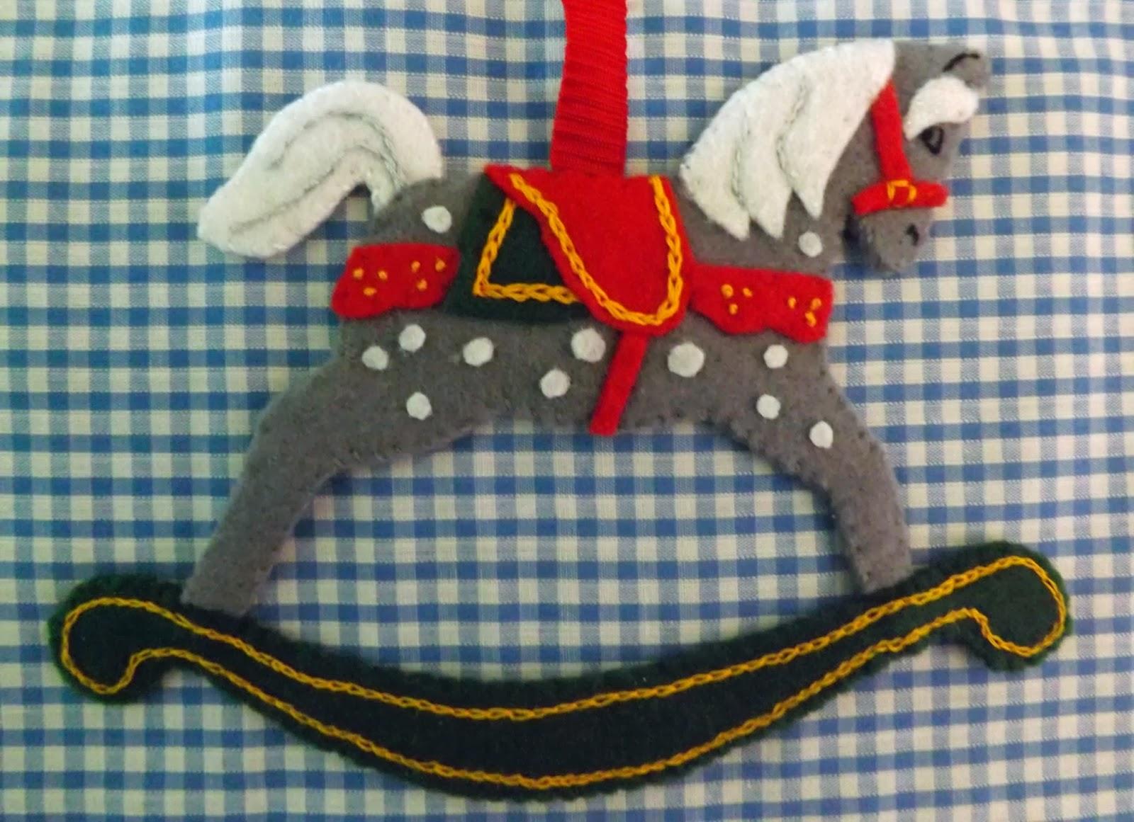 Christmas Rocking Horse Bits And Bobs