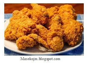 Resep Masakan Ayam Goreng Kremes Ala KFC