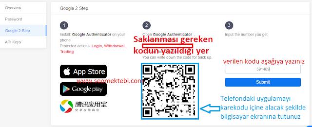 Kucoin Güvenlik Ayarları Authenticator 2fa 2018