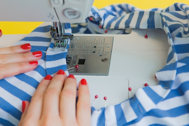 Sewing a jersey neckband - Tilly and the Buttons