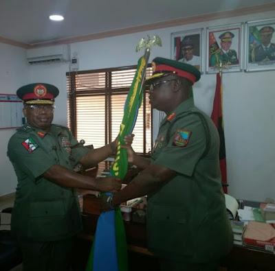 Maj.-Gen. Enebong Udoh Takes Over As New GOC Of Nigeria Army 81 Division