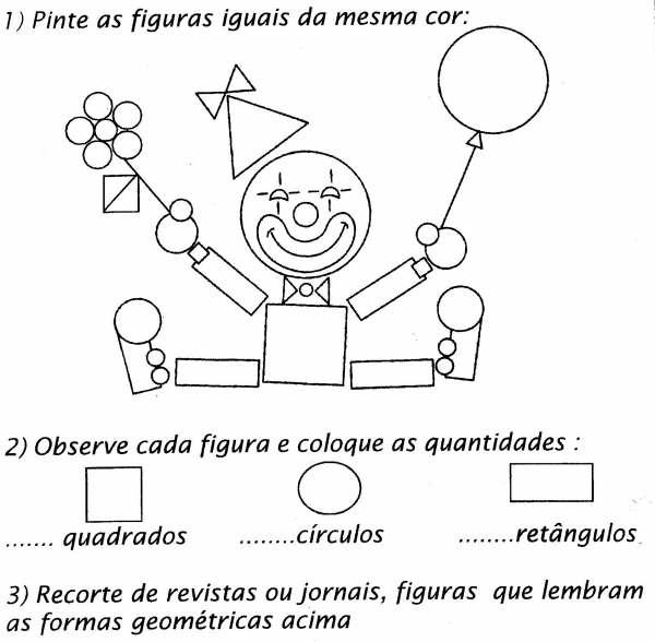 Cantinho Da Professora Mônica: Formas Geométricas