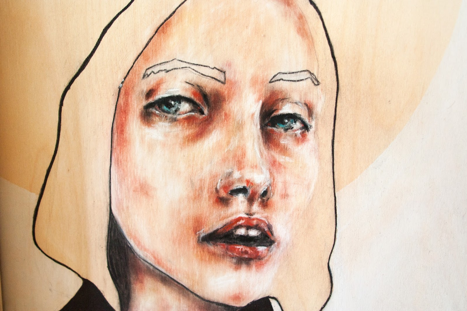 Sfacc courtney sparks studio visit interview sfacc your paintings are something of a cross between painting and drawings because you use pastel sticks but also a brushes and you also make hard ccuart Images
