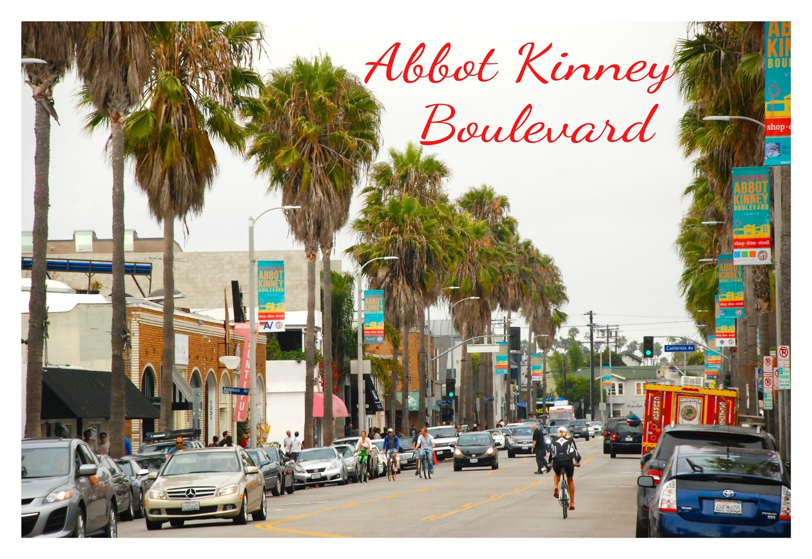 Abbot Kinney Boulevard In Venice Beach Is One Of The Hippest Places Los Angeles And That S Saying Something