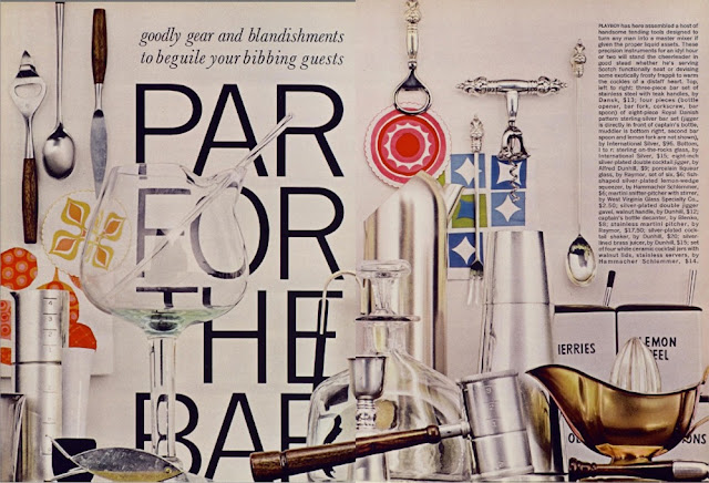 Playboy barware buying guide 1961