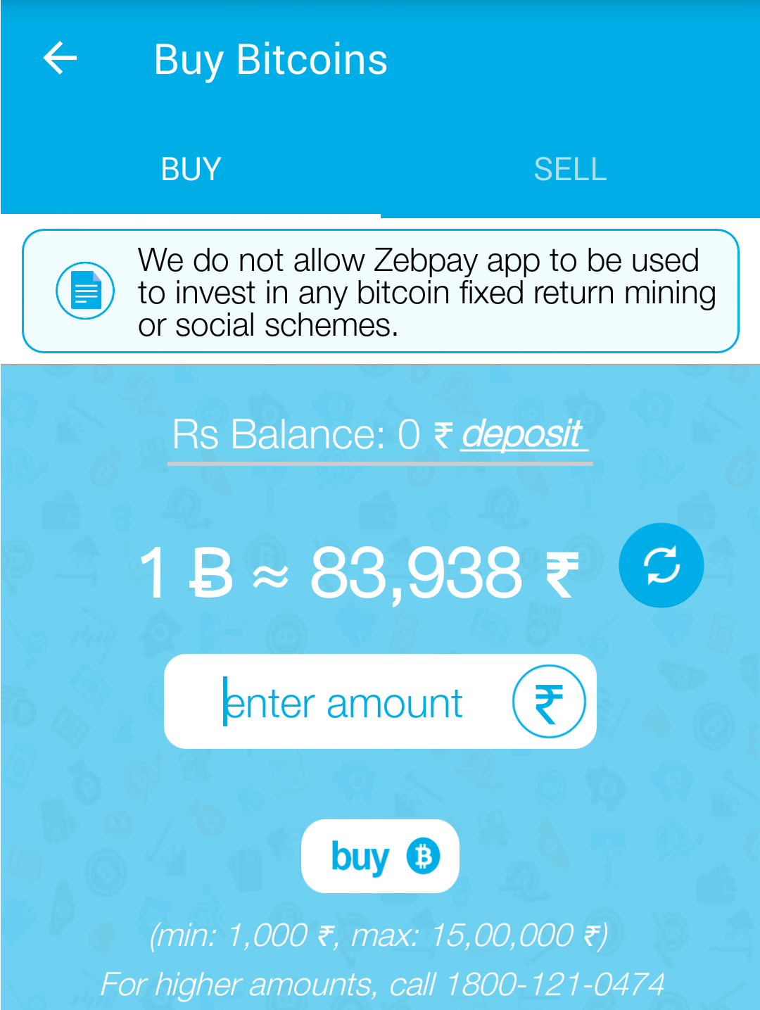 A to z blogs for you zebpay indias leading bitcoin exchange zebpay buy screen ccuart Choice Image