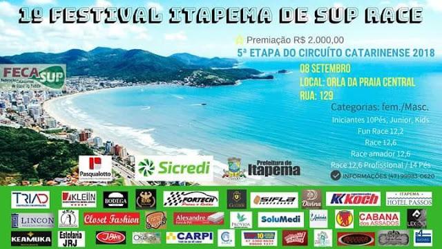 1º Festival Itapema de sup race