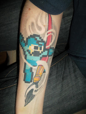 Retro Gaming Tattoos - Mega Man