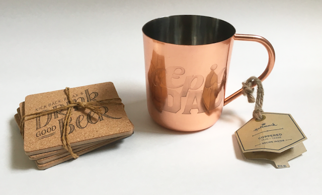 Hallmark Gifts for Father's Day - Coaster Set and Copper Mug