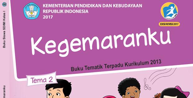 Materi Kelas 1 Tema 2 Kurikulum 2013 Revisi 2017