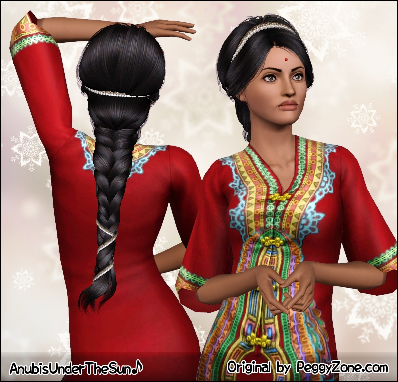 Tremendous Mod The Sims French Braid Short Hairstyles For Black Women Fulllsitofus
