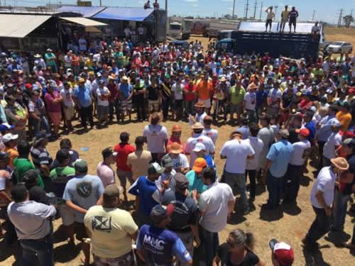 Vaqueiros fazem mobilização nacional contra proibição das vaquejadas