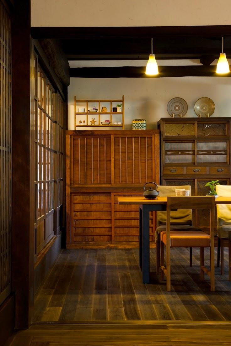 Alterazioni viniliche tansu il mobile giapponese for Cucina stile giapponese