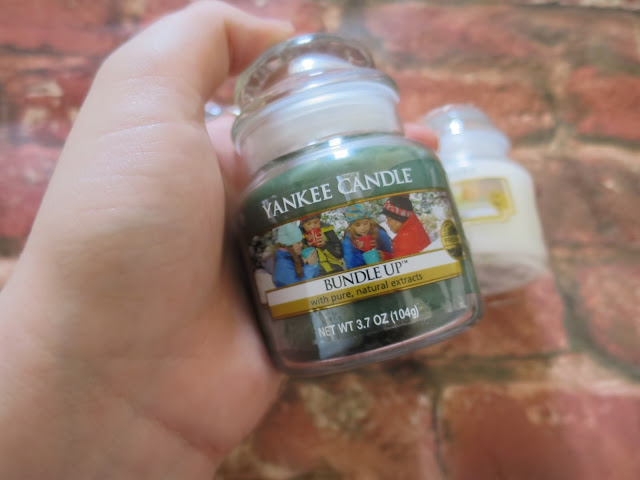 Bundle Up Yankee Candle 2015