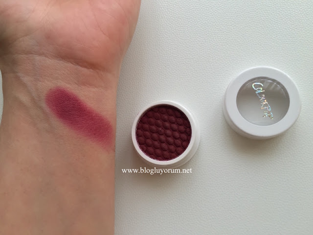 colourpop eyeshadow hustle swatch