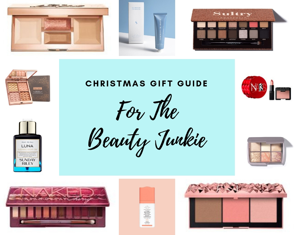 Christmas Gift Guide 2018 Beauty