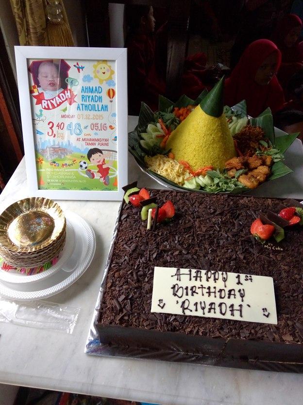 Merayakan Ulang Tahun Anak di Rumah - anesanisa s diary e221314909