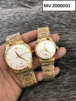 đồng hồ cặp đôi Movado 2000D01