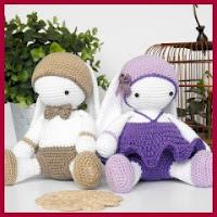 Muñecos conejitos