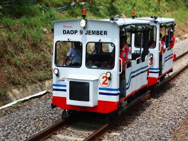 Kereta lori wisata kalibaru-Mrawan/Garahan.