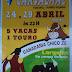 """Largadas de Toiros no Carvalhal """"Torres Vedras"""" de 24 a 29 Abril 2016"""