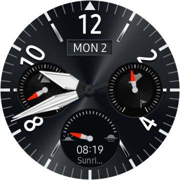 how to delete widgets on gear s3